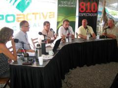 La Tertulia Agropecuaria en la Expoactiva: el agronegocio y sus nuevos desafíos