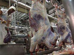 Más exportación de carne