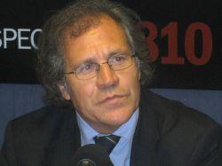 """Luis Almagro: """"Debemos trabajar en la institucionalidad, con los acuerdos vigentes"""""""