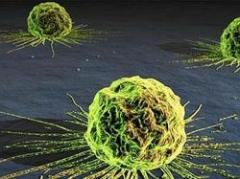 Brillo para detectar pequeñas células cancerígenas