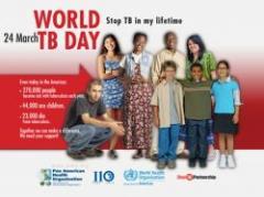 Se celebra este sábado el Día Mundial de la Tuberculosis