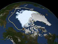 El Ártico se encoge, mientras la Antártida se expande