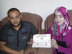 Tras años de espera suspenden su boda por ofensiva en Gaza