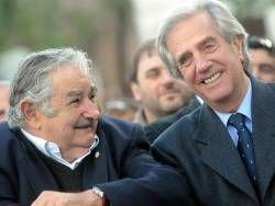 """""""Hablamos como dos viejos amigos"""", afirmó Mujica"""