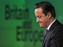 Cameron promete referéndum vinculado a Unión Europea