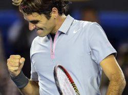 Federer sufre ante Tsonga, pero se metió en semifinales