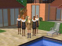 Susana llegó a los Sims