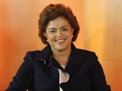 Paseo en moto de Dilma