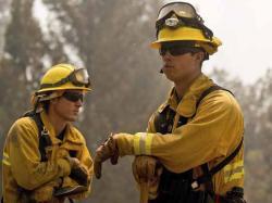 California: incendio devastó más de 65.000 hectáreas