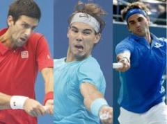 Nadal, Djokovic y Federer avanzan a octavos en Shangai