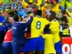 Así fue el gol de Ecuador