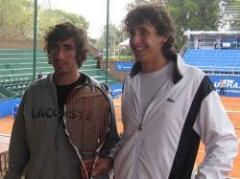 Uruguay Open: los hermanos Cuevas pasaron de ronda