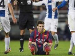 """Messi se confiesa: """"No estoy al cien por cien"""""""