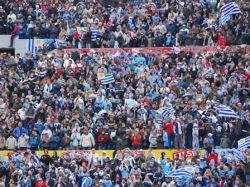 Estadio repleto para el partido ante Jordania