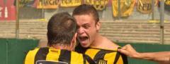 Peñarol ganó y dejó a Nacional como escolta en el Apertura