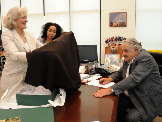 """Glenn Close: Mujica """"es un gran e inspirador líder"""". Presidencia"""
