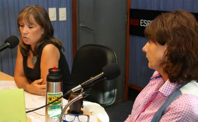 Mar�a Methol y Rosanna Dellazoppa