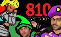 Nico Batalla, Juanchi Hounie y Diego Zas: espada, magia y joroba