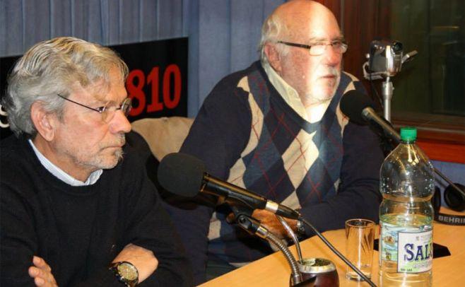 Alfredo Albin y Rodolfo Irigoyen