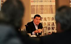 Primer Encuentro del ciclo Presidenciables 2014: Pedro Bordaberry, candidato del Partido Colorado