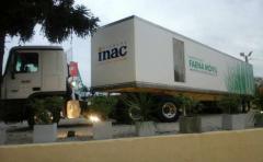 ¿Alguna vez vieron una planta de faena animal montada en el tráiler de un camión?