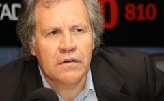 """Canciller Luis Almagro: """"Cuantas más veces juegue el presidente Mujica en temas de política exterior, más cosas resuelve"""""""