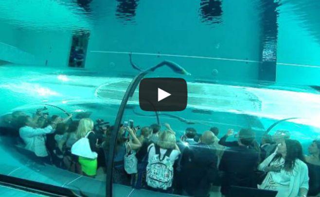 Conozca la piscina m s profunda del mundo for Piscina mas profunda del mundo