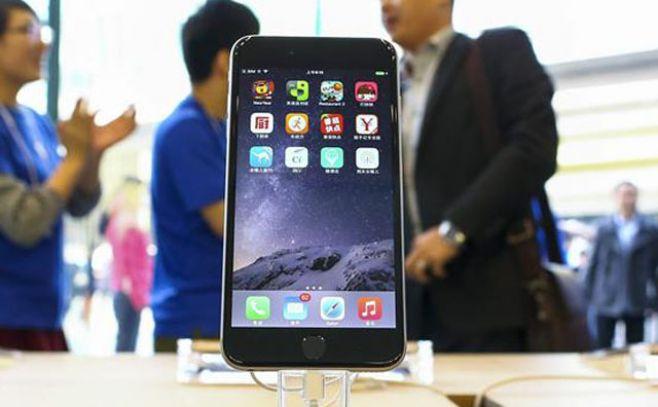 Impulso del iPhone 6 dispara beneficios de Apple