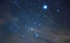 Fenómenos astronómicos provocan lluvia de estrellas