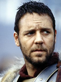 """Russell Crowe, """"Gladiador"""".."""