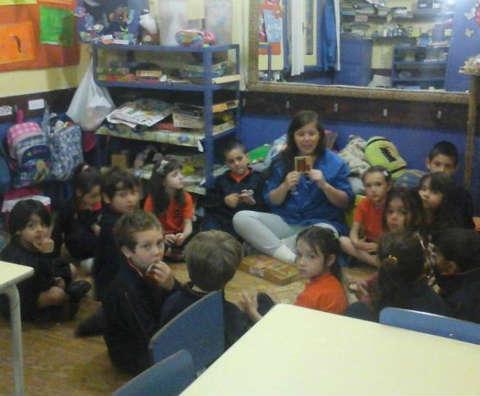 """El instituto """"I dejo"""" comienza y culmina la jornada con una instancia de reflexión para sus alumnos"""