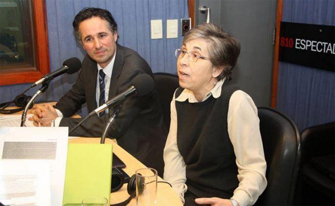 Adriana Raga y Agust�n Bonino