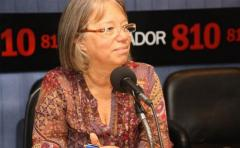 """Mónica Xavier: """"Es muy importante el peso político del FA"""" pero """"eso no puede traducirse en avasallamiento"""" parlamentario"""