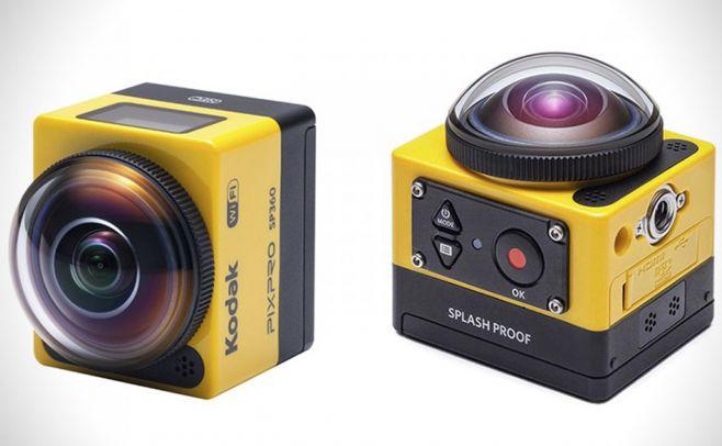 Kodak lanzó cámara que genera vistas en 360º