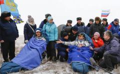 Aterriza con éxito la nave Soyuz TMA-13M