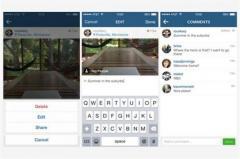 Instagram habilita la edición de textos en su nueva versión