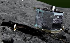 La sonda Rosetta lanza el módulo sobre el cometa