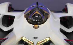 Diseñan auto con motor láser que llega a 390 km/h