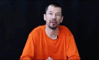 Rehén británico aparece en nuevo vídeo del EI