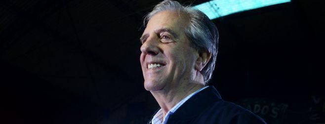 Tabaré Vázquez es el presidente electo con el 53.6%