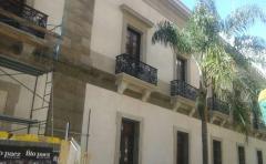 El Cabildo, uno de los dos edificios más valiosos del Montevideo colonial