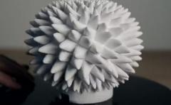 Hipnóticas ilusiones ópticas creadas con impresora 3D