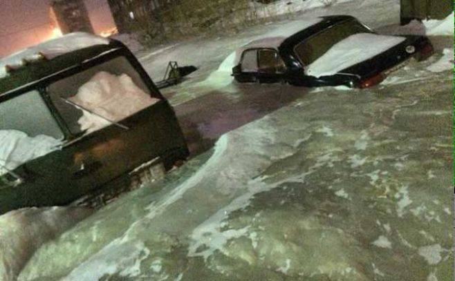 Dudinka, la ciudad que quedó congelada por la ruptura de un caño - El Espectador Uruguay (Comunicado de prensa)