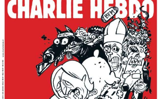 Charlie Hebdo con Le Pen, Sarkozy y el Papa en portada