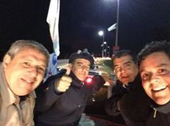 Blás cierra campaña con una selfie por Maldonado Unido
