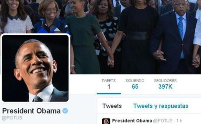 Obama se estrena en Twitter y logra un millón de seguidores