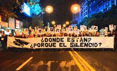 Viru Viru en la previa de la 20ª Marcha del Silencio