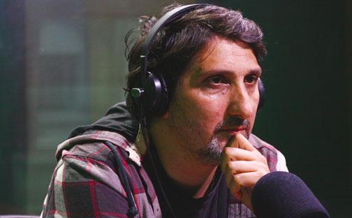 Luchando con un hámster: Gustavo Hernández