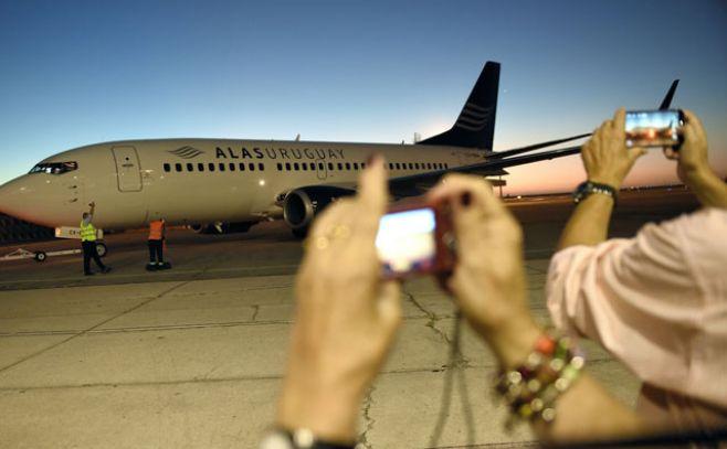 Llegó al Aeropuerto de Carrasco el segundo avión de Alas Uruguay