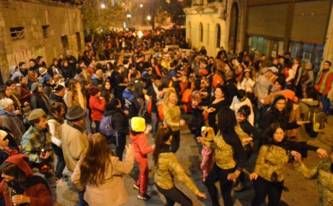 Una multitud disfrutó de la Noche de San Juan